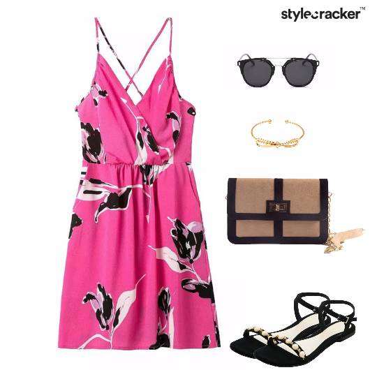 Dress Crossback Summer Daywear  - StyleCracker