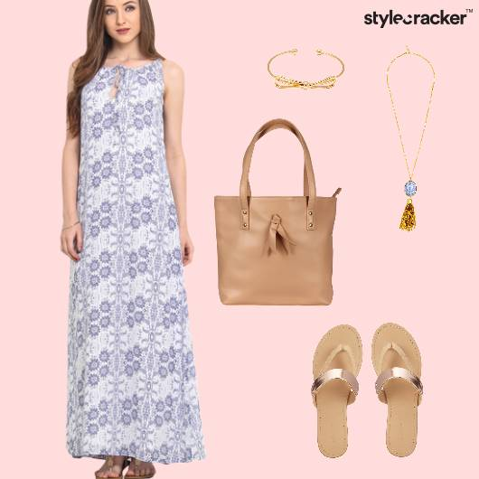 Summer MaxiDress Holiday Prints  - StyleCracker