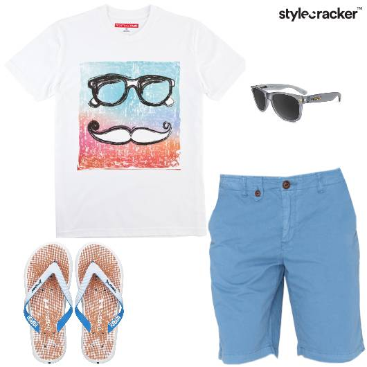 GraphicTee Casuals Summer FlipFlops - StyleCracker