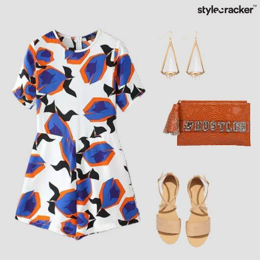 Romper Prints Casual Summer  - StyleCracker