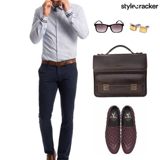 Office Work Crisp Shirt - StyleCracker