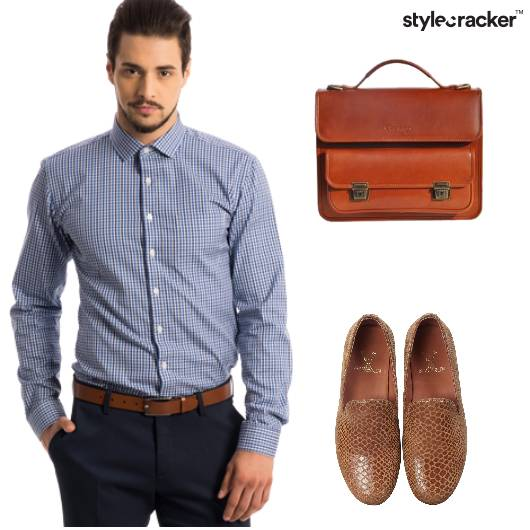 Work Formal SlipOns Shirt  - StyleCracker