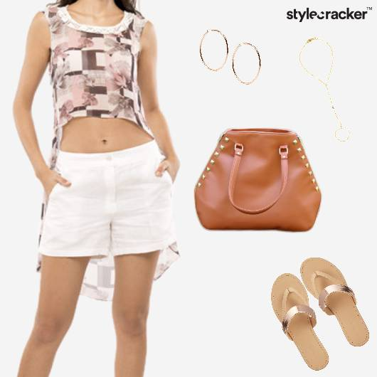 Summer Print Linen Shorts - StyleCracker