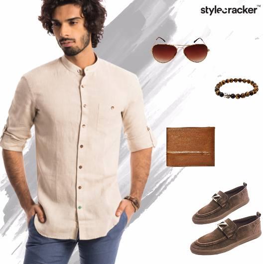 Summer Linen Shirt Aviators - StyleCracker