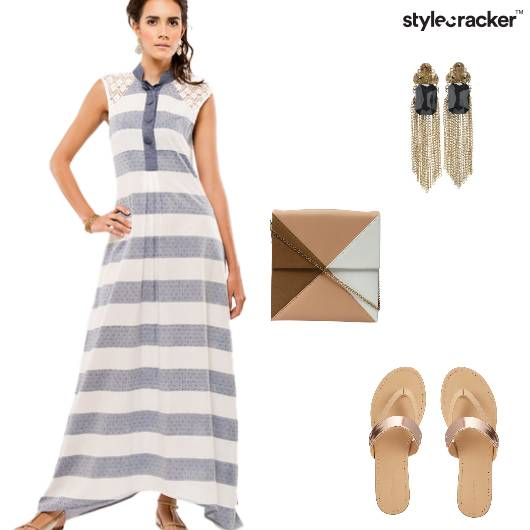MaxiDress Casual Summer DayOut  - StyleCracker