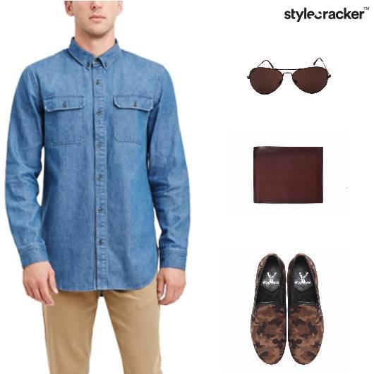 Casual Summer Denim Shirt - StyleCracker