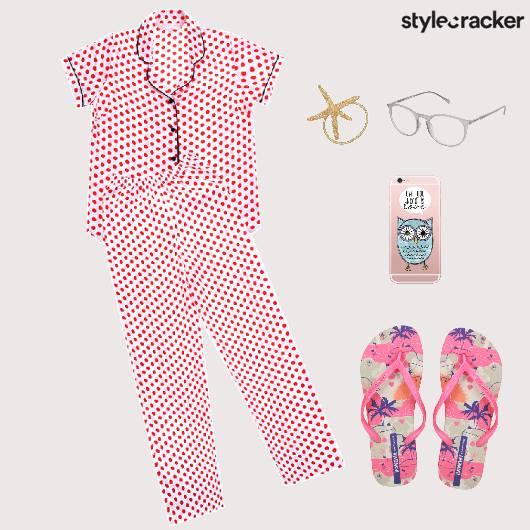 NightWear SleepOver PyjamaParty Comfort Casual - StyleCracker