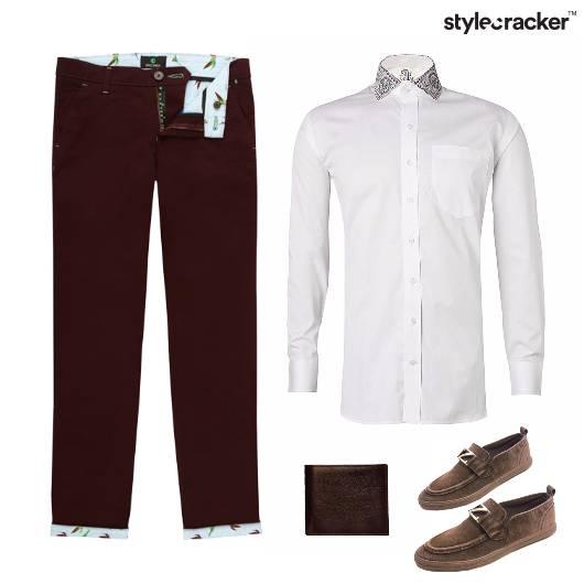 Crisp White Shirt SlipOn Loafers Work - StyleCracker