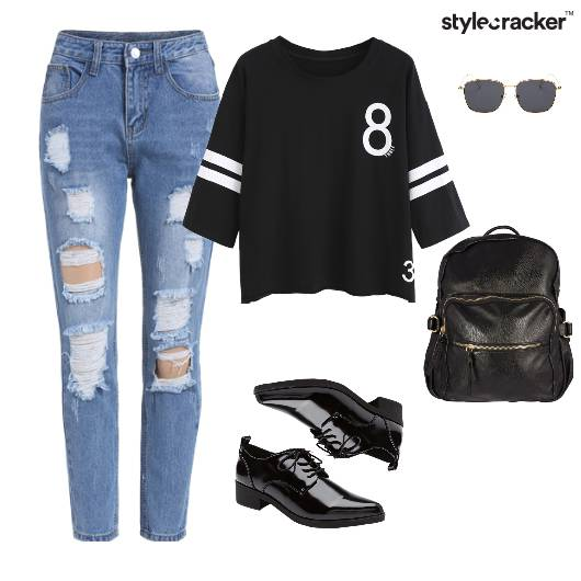 TShirt Casual BackPack College - StyleCracker