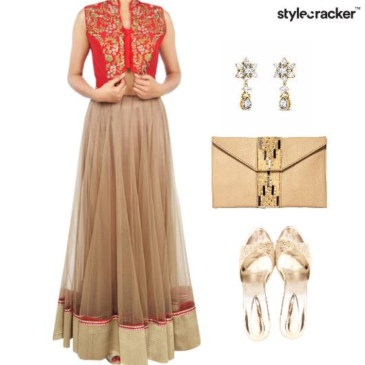 Indian Reception Festive Ethnic - StyleCracker