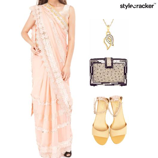 Indian Ethnic Festive Flats Footwear - StyleCracker