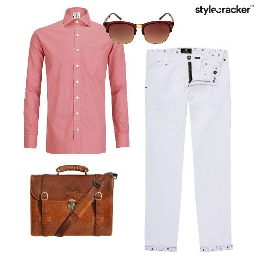 Summer Work Chinos Sorbet - StyleCracker
