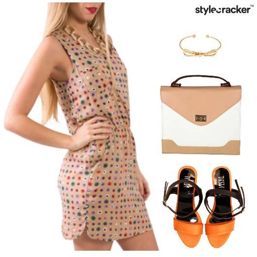 Printed Dress Accessories Lunch - StyleCracker