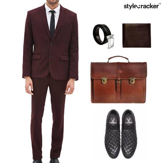 Work Meeting Office Pant Suit Shirt - StyleCracker
