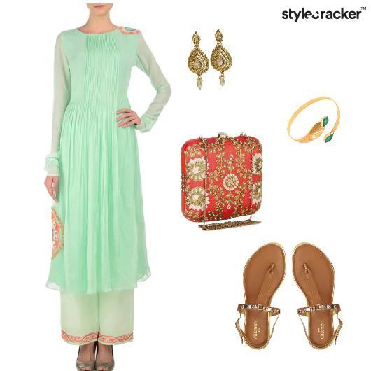 Pastel Festive Indian IndianWear Wedding - StyleCracker