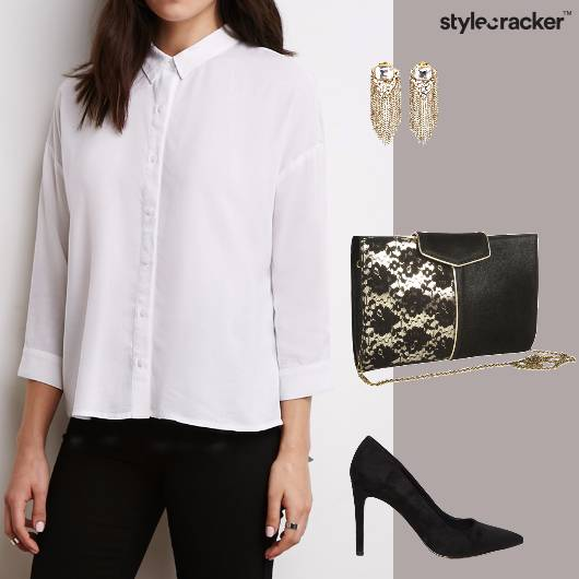 Monochrome DressedUp NightOut Party Glam - StyleCracker
