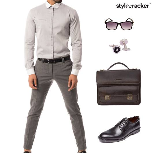 Work Meeting Shirt Pant - StyleCracker