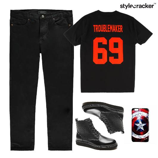 TShirt Casuals Boots Footwear  - StyleCracker