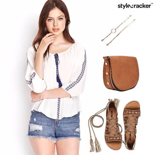 Casual Shorts Summer Tieup Sandals - StyleCracker