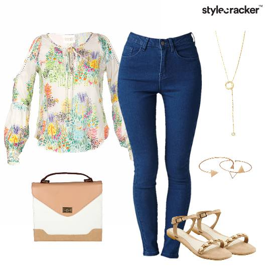 Summer Multicolored Blouse  Brunch - StyleCracker
