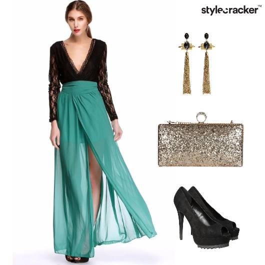 Dinner Date Party Lace  - StyleCracker