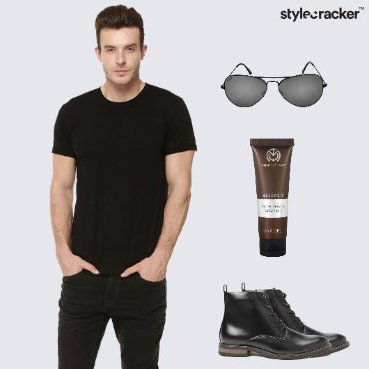 Basic Casual Allblack Boots - StyleCracker