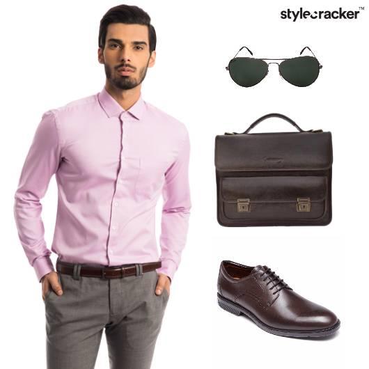Formal Workwear Shirt Trouser  - StyleCracker