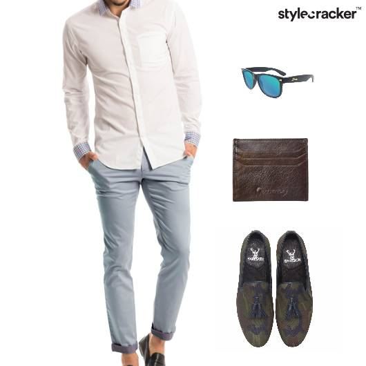 Shirt Pants Weekend Comfort - StyleCracker