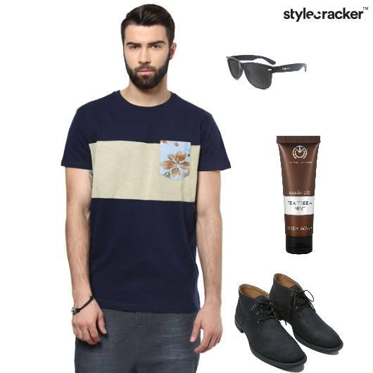 Tshirt Chinos Shoes Sunglasses Casual - StyleCracker