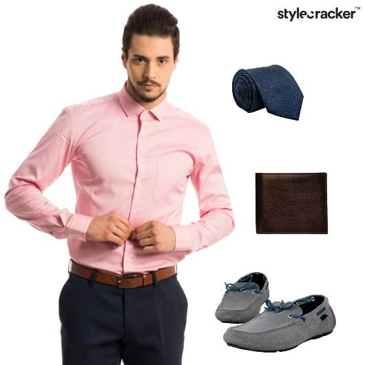 Shirt Trousers Loafers Formal Work - StyleCracker