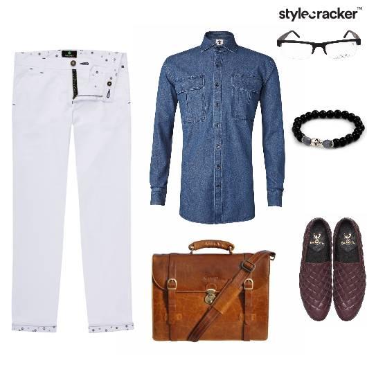 Denim Shirt Summer Casual  Work - StyleCracker