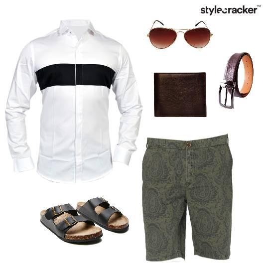 Shirt Shorts Summer Casual  - StyleCracker
