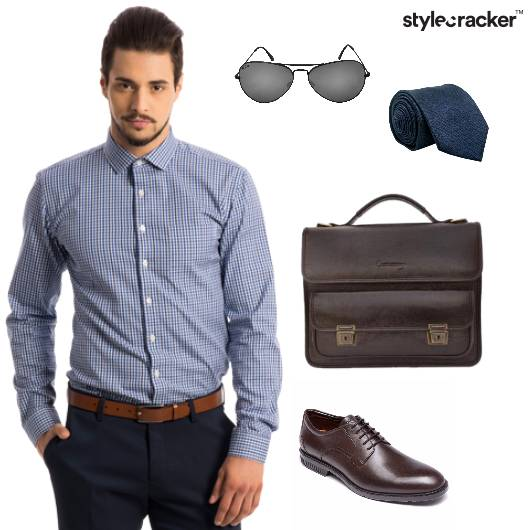 Checks Formal Office Work  - StyleCracker