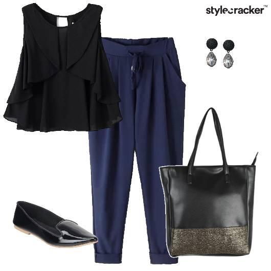 Workwear Navy Black SmartCasual Meetings - StyleCracker