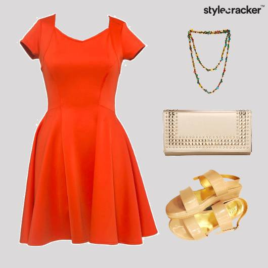 Fit&Flare Dress Comfort Lunch - StyleCracker