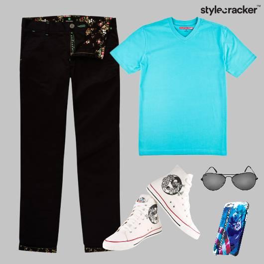 TShirt Casuals HiTops Footwear Comfort - StyleCracker