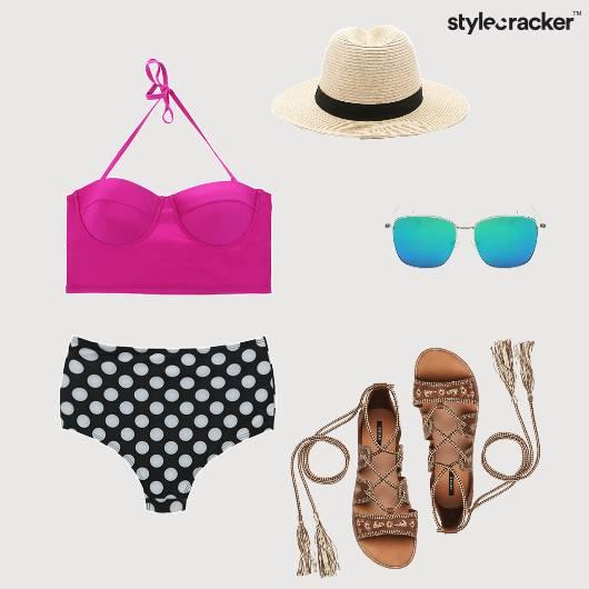 Bikini Beach Vacation Chill  - StyleCracker