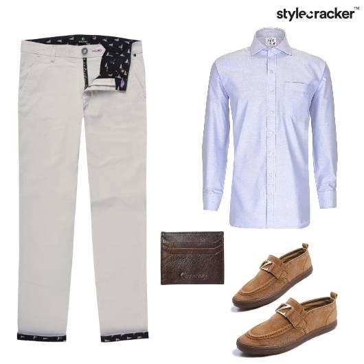 Chinos Work Shirt Formal  - StyleCracker