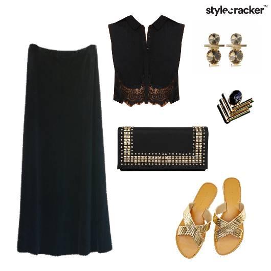 CropTop Skirt Casual Brunch  - StyleCracker