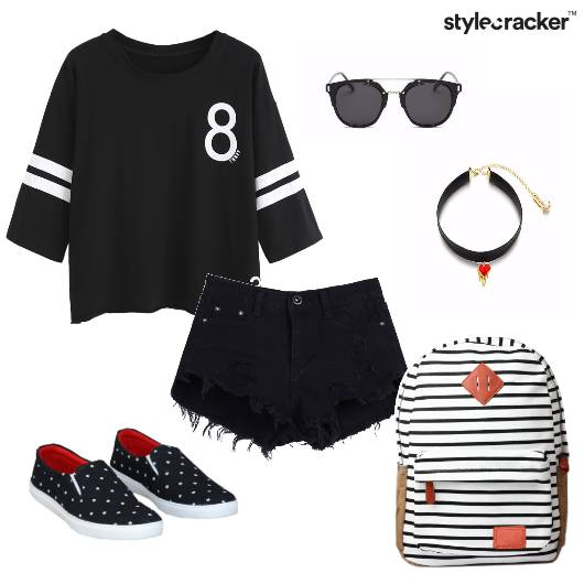 Jersey Tshirt Shorts Casual Summer - StyleCracker