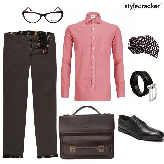 Formal Shirt Work Chinos Basics - StyleCracker