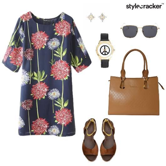 Floral Dress Work Lunch Summer - StyleCracker