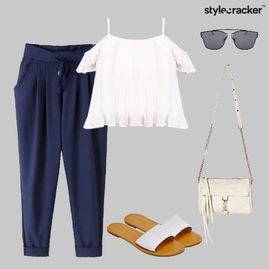 OffShoulder Pants Casual Summer Basics - StyleCracker