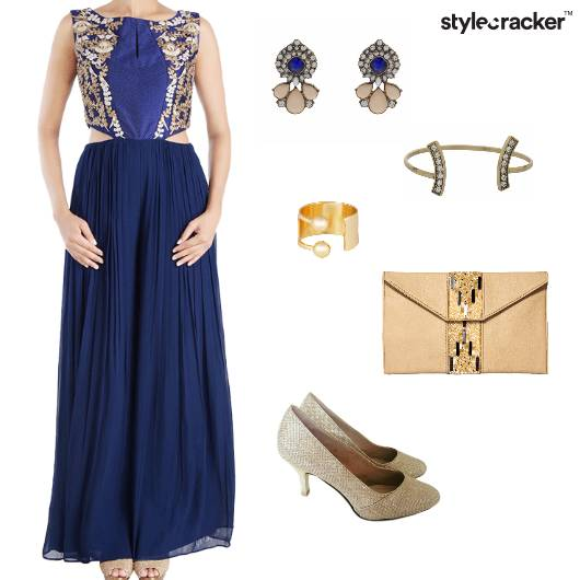 Gown Indian Ethnic Wedding Function  - StyleCracker