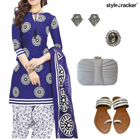 Print Salwaar Indian Ethnic Summer  - StyleCracker