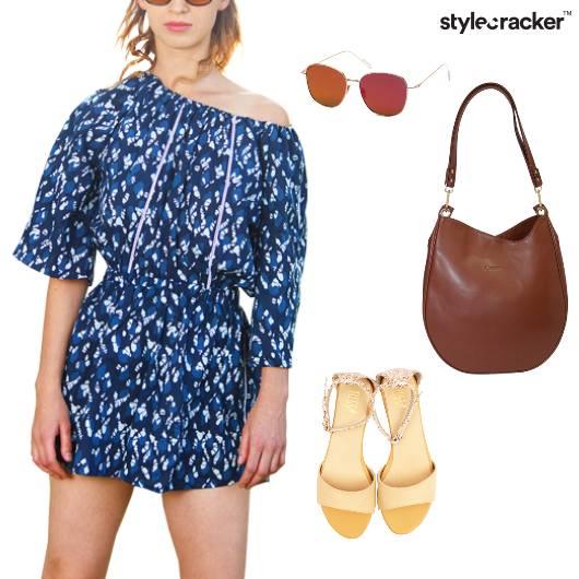 Printed Romper Summer Casual - StyleCracker