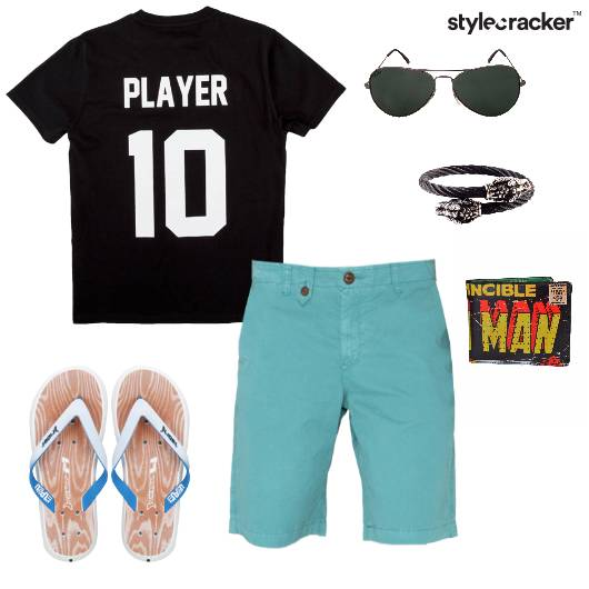 Casual TShirt Shorts Summer Basics - StyleCracker