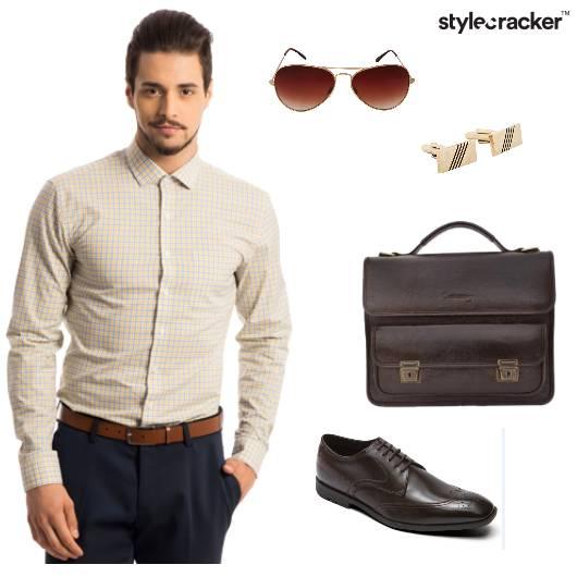 Formal Checks Shirt Office Work - StyleCracker