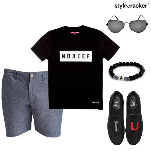 Shorts TShirt Summer Casual  - StyleCracker