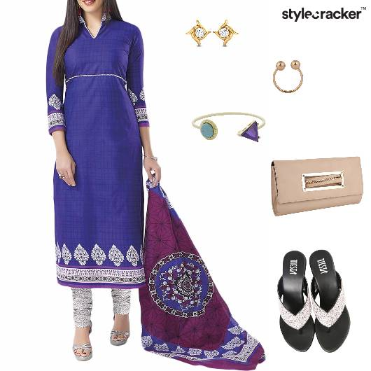 Salwaar Suit Indian Ethnic Summer - StyleCracker